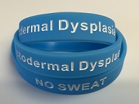 Ectodermal Dysplasia 'no sweat' wristbands